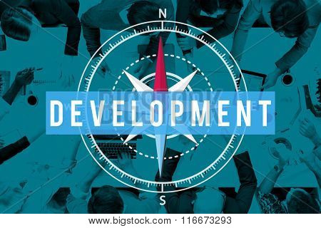 Development Change Improve Innovation Learning Concept