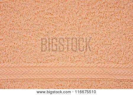 Beige Terry Towel