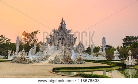 Wat Rong-khun Temple Chiangrai Thailand