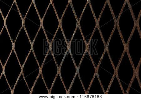 Rusty Expanded Metal