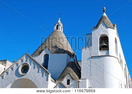 A Trullo Church In Alberobello In Puglia - Italy N 99
