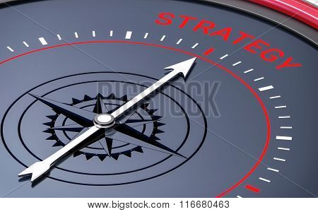 3D Compass. Strategy Word