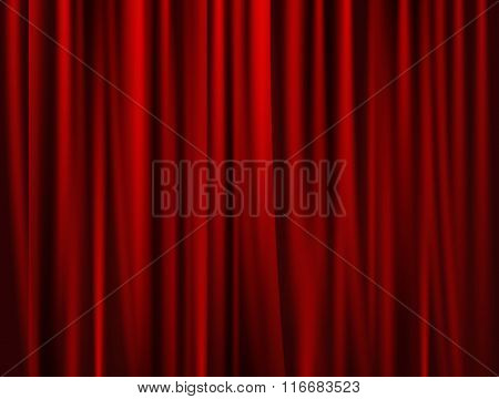Theatrical Background Drape