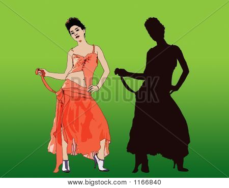Sexy Fashion Girl