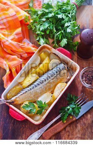 Potato With Fish