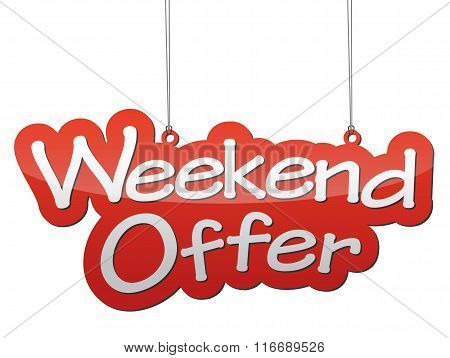 Background Weekend Offer