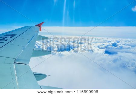 The Wing Over The Couds