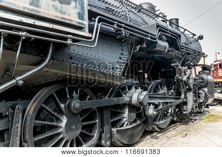 Steam Locomotive Power