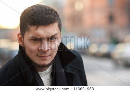 Man With A Raised Eyebrow