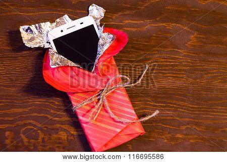 Smartphones in gift package
