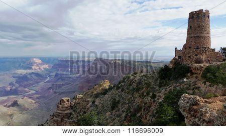 Watchtower in Grand Canyon National Park