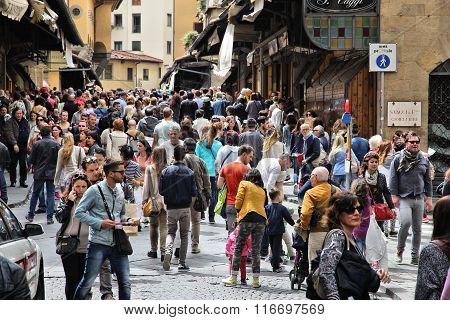 Crowded Landmark