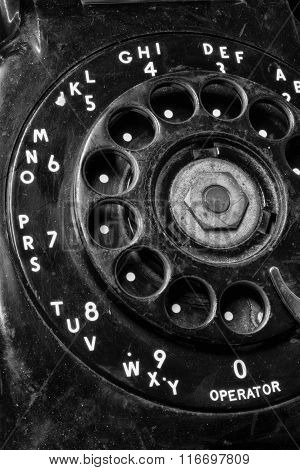 Old Phone - Antique Rotary Dial Telephone III