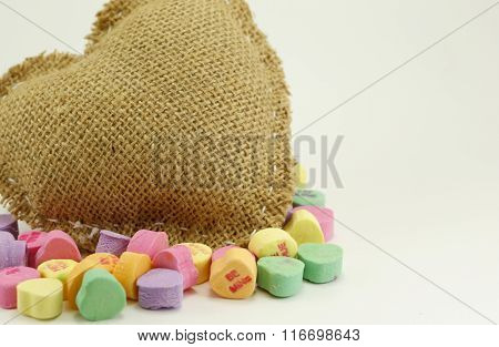 Valentine Heart with candy