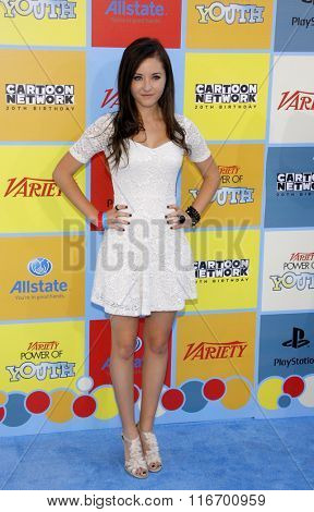 LOS ANGELES, CALIFORNIA - September 15, 2012. Rachel G. Fox at the Variety's Power Of Youth held at the Paramount Studios, Los Angeles.