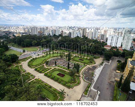 Aerial View of Ipiranga, Sao Paulo, Brazil