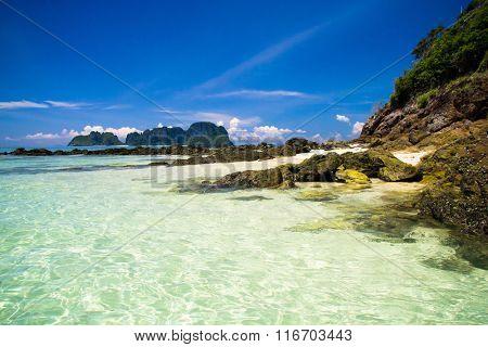 Idyllic Island Big Stones