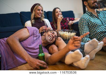 Enjoying A Great Movie