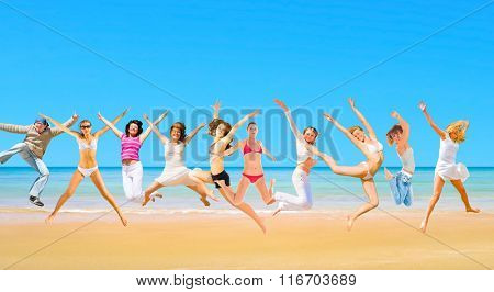 Active Girls Summer Exercise