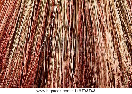 Background Broom Closeup