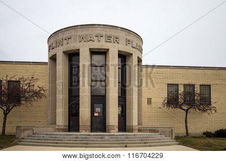 Flint Michigan Water Plant