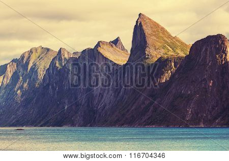 Senja islands in Norway
