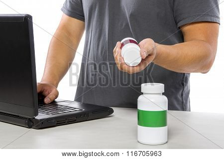 Buying Medicine Online with a Computer
