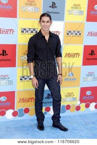 BooBoo Stewart at the Variety's Power Of Youth held at the Paramount Studios in Hollywood, USA on September 15, 2012.
