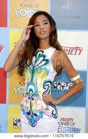 Kelsey Chow at the Variety's Power Of Youth held at the Paramount Studios in Hollywood, USA on September 15, 2012.