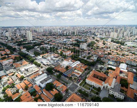 Aerial view of Ipiranga neighborhood
