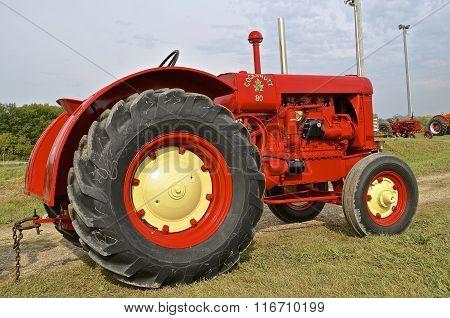 Restored Cockshutt 80 tractor