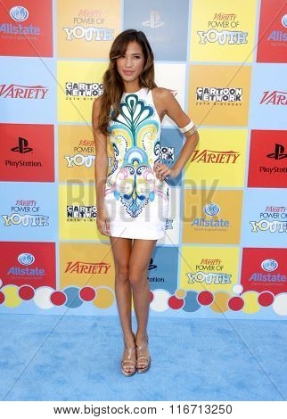 LOS ANGELES, CALIFORNIA - September 15, 2012. Kelsey Chow at the Variety's Power Of Youth held at the Paramount Studios, Los Angeles.