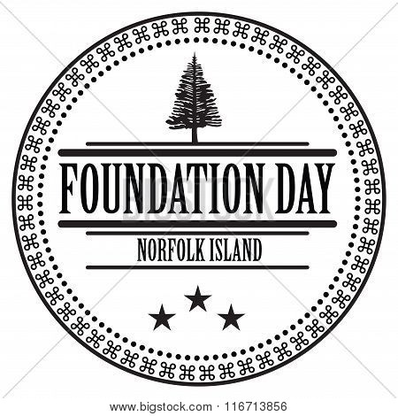 Stamp Imprint Foundation Day