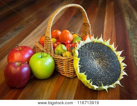 Healthy Organic Food Composition