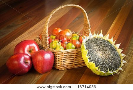 Healthy Raw Food Composition