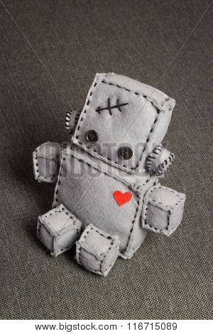 Robot Soft Toy.