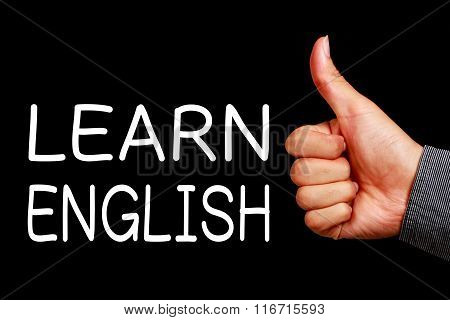 Learn English Concept