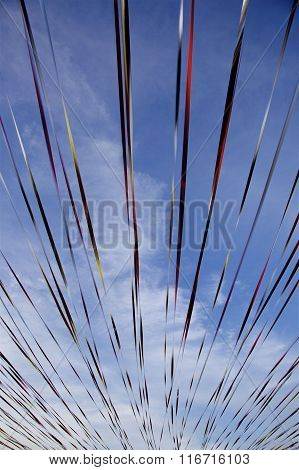 Streamers in the sky