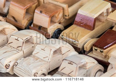 Handicraft - Souvenirs made of wood