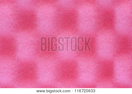 Foam acoustic , safe pink packaging material