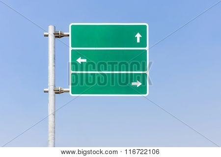 Direction Traffic Signage