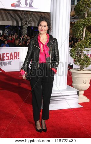 LOS ANGELES - FEB 1:  Heather Goldenhersh at the Hail, Caesar World Premiere at the Village Theater on February 1, 2016 in Westwood, CA