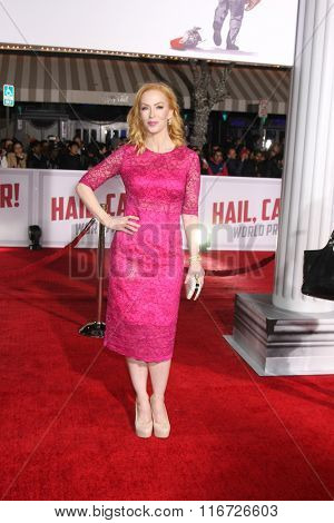 LOS ANGELES - FEB 1:  Caitlin Muelder at the Hail, Caesar World Premiere at the Village Theater on February 1, 2016 in Westwood, CA