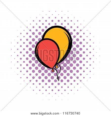 Balloons comics icon