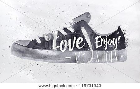 Poster Sport Shoes