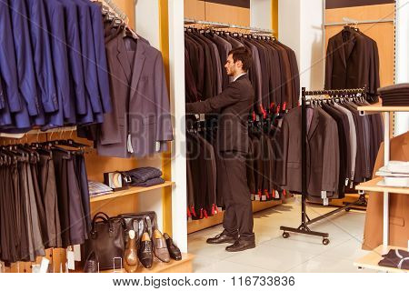 People In Suit Shop