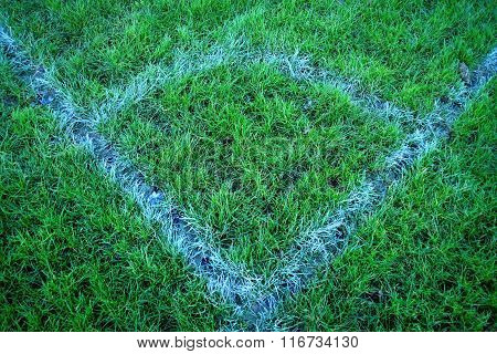 Corner on a footbal pitch