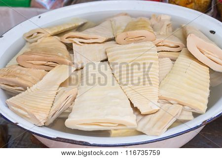 Boiled Chinese Bamboo Shoots