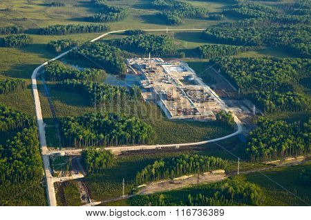 Oilfield, Top View