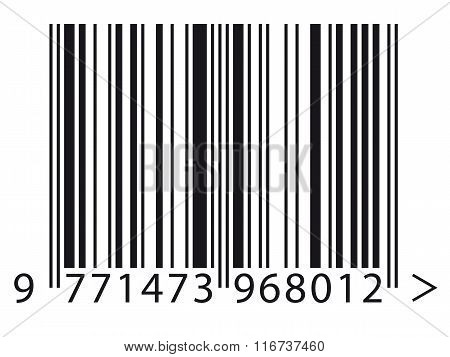 Close Up Of A Barcode